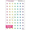Wash Bucket Cutout Icons - Bold Rainbow - Set of 70