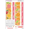 Date Cover Decoration Set for 2016/2017 EC Vertical and Hourly Planners - Summer Fruits
