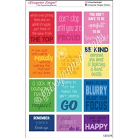 Quote Stickers - Inspiration