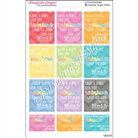Quote Stickers - Look For Stars