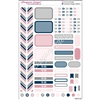 KAD Personal Weekly Planner Set - Muted Pink and Navy