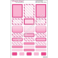 Bold Event Sticker Sampler - Pink - Set of 29