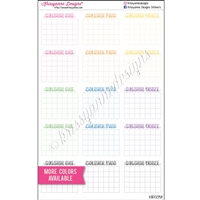 Customized Single Monthly Habit Trackers - Set of 15