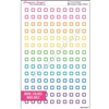 Transparent Mini Square Outline - Set of 140