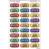 School Doodle Event Stickers - Pack Lunch - Set of 27