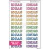 Large IDEAS Splash - Set of 24