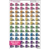 Pack Lunch Cutout Splash - Set of 72