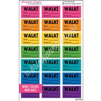 Half Box WALK! - Set of 21
