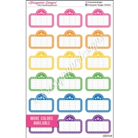 Movie Board Cutout Stickers - Set of 18
