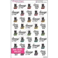 Kitty Litter Doodles - Set of 40