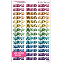 Planner Phrases - Puffy Sleep In - Set of 42
