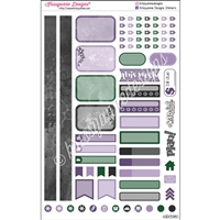KAD Personal Weekly Planner Set - Something Wicked