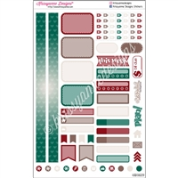 KAD Personal Weekly Planner Set - Christmas Magic
