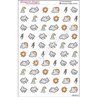 Medium Weather Doodles - Set of 60