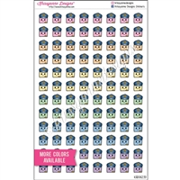 Planner Dudes - Officer Steve - Set of 96