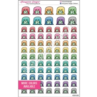 Planner Dudes - Barf Steve - Set of 80