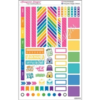 Functional Planner Set - Bold Rainbow