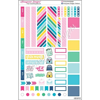Functional Planner Set - Colorful