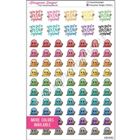 Planner Dudes - Pizza Steve - Set of 80
