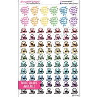 Planner Dudes - Donut Steve - Set of 82