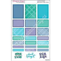 Functional Sticker Sampler - May Plaid