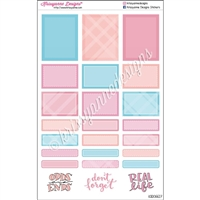 Functional Sticker Sampler - June Plaid
