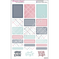 Functional Sticker Sampler - September Plaid