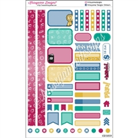 KAD Personal Weekly Planner Set - School is Cool