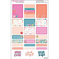 Functional Sticker Sampler - Warm & Cozy