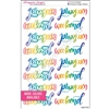 Large Weekend Script - Set of 16