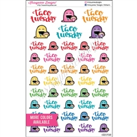 Planner Steve - Taco Tuesday Sampler - Set of 46