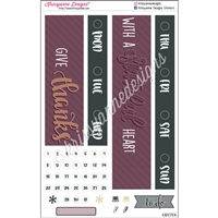 Date Cover Decoration Set - Grateful Heart