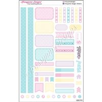KAD Personal Weekly Planner Set - Crafting is PUN