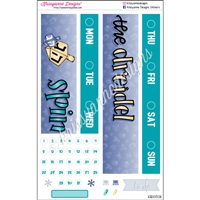 Date Cover Decoration Set - Spin the Dreidel