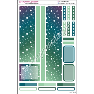 Weekly Decoration Set - September Stars