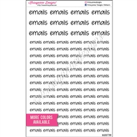 Emails Script Set - Set of 96