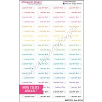 Customized Dotted Checklist Mini Event - Set of 80