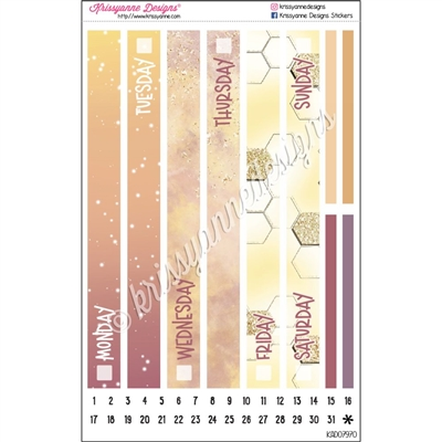 KAD Daily Duo Date Cover Set - Sunshine