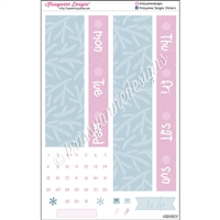 Date Cover Decoration Set - Cute Christmas