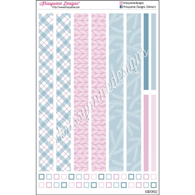 KAD Decoration Strip Set - Cute Christmas