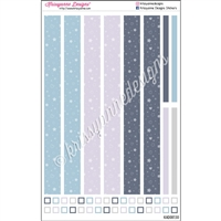 KAD Decoration Strip Set - December Stars
