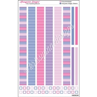 KAD Decoration Strip Set - 2021 February Stripes