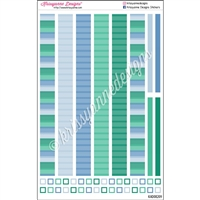 KAD Decoration Strip Set - 2021 March Stripes