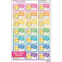 Cursing Sun Half Box - Set of 21