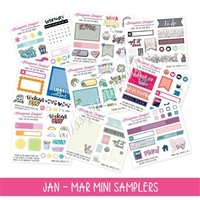 Q1 2018 Mini Samplers - January thru March