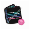 Acrylic Flair Pin - Wild Side Planner