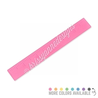 Frosted Acrylic Ruler