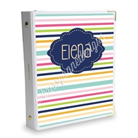 Signature KAD Sticker Binder - Stripes
