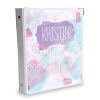 Signature KAD Sticker Binder - Watercolor