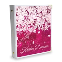 Signature KAD Sticker Binder - Deep Pink Sakura